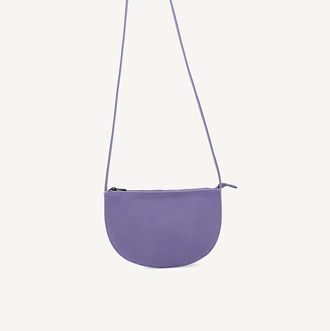 Farou Half Moon Bag - Lilac