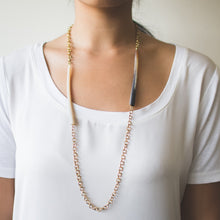 Horn Tube Necklace