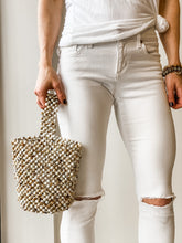 Cream Seychelles Top Handle Bag
