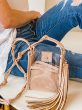 Kristy Small Clear Bag
