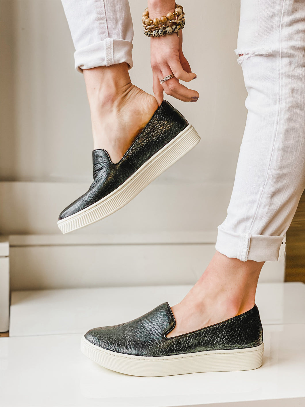 Somers Slip On Black