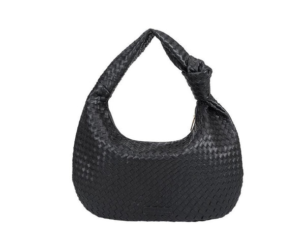 Brigitte Large Shoulder Bag - Black