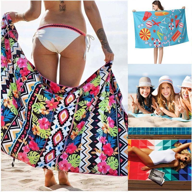 Polyester Beach Towel - Quick Dry, Sand Free