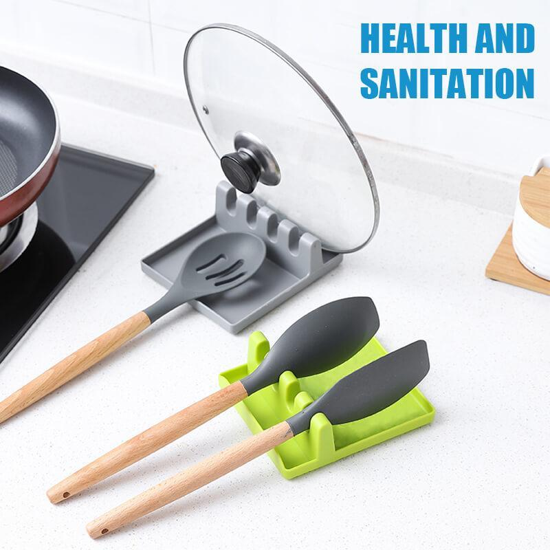 Heat Resistant Kitchen Utensil Spatula Holder