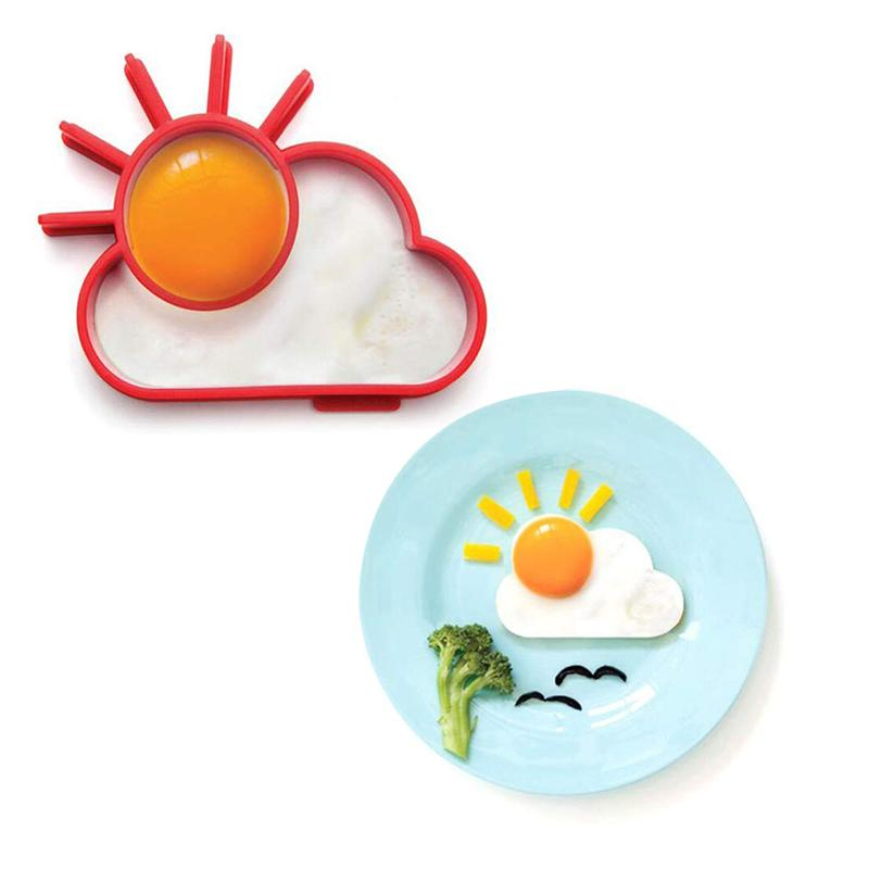 Fun Breakfast Molds with Egg Separator