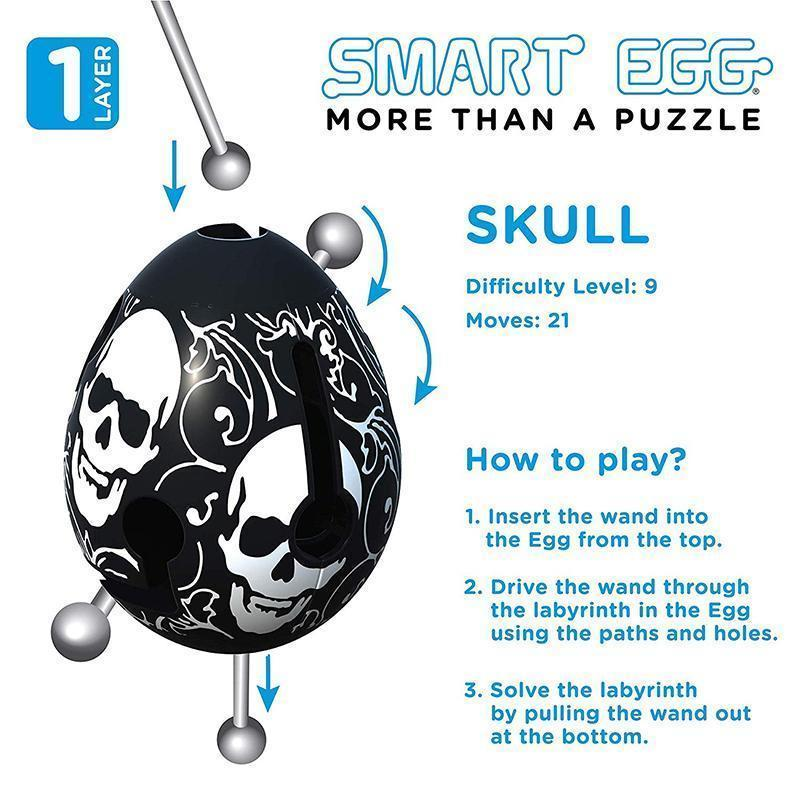Smart Egg Space Capsule Puzzle