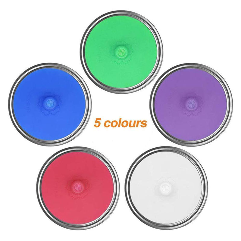 Cadevot™ Silicone Sealing Covers for Mason Jar (6 PCs)