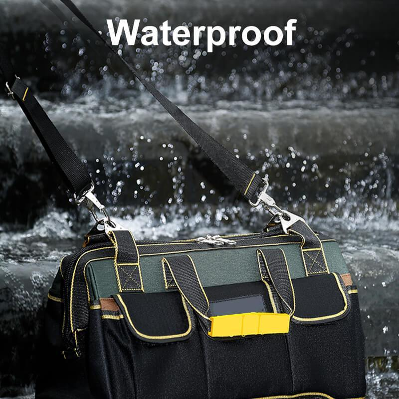 Tool Bag with Water Proof Molded Base