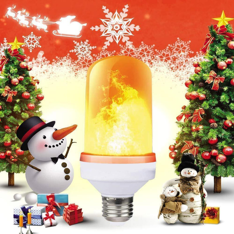 LED Flame Light Bulb with Gravity Sensor