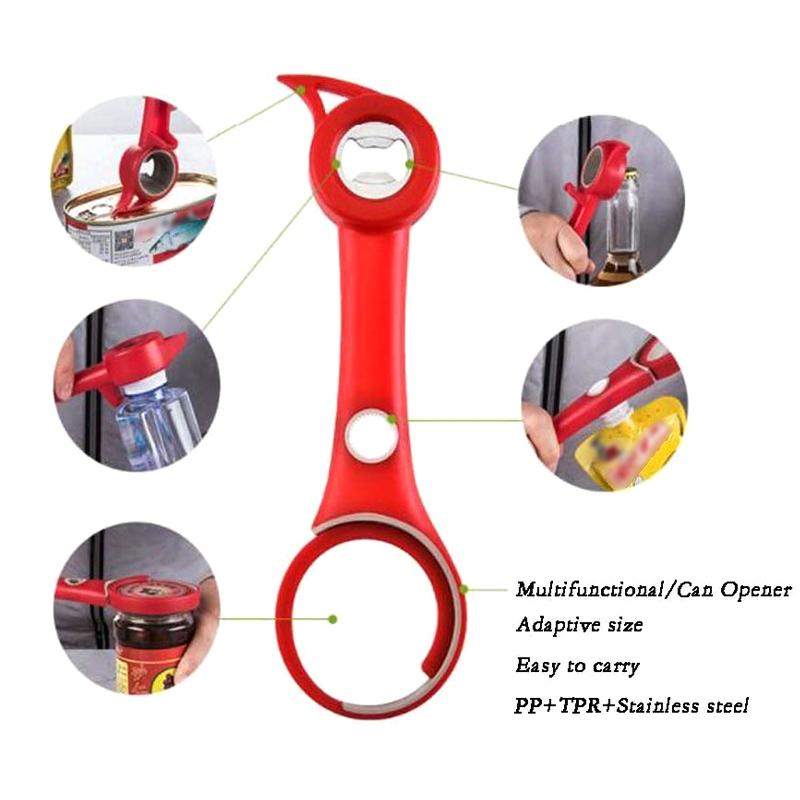 5-in-1 Multifunctional Bottle Opener