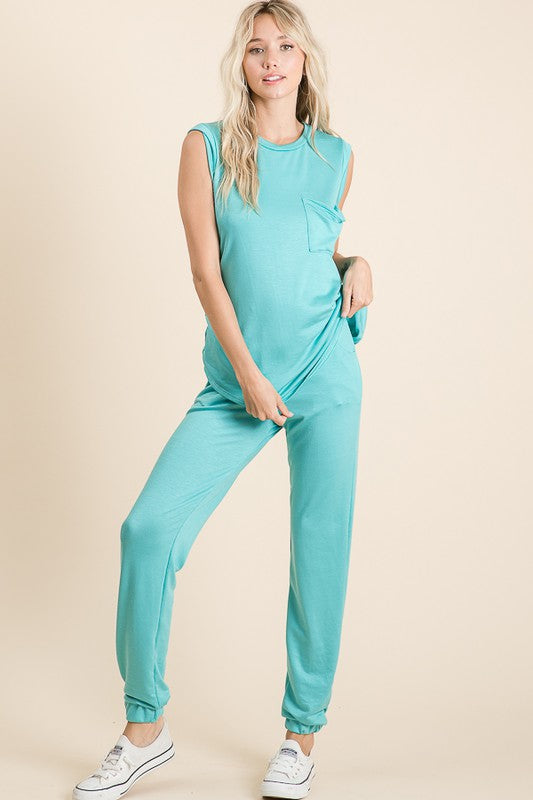 Azul Pajamas Set