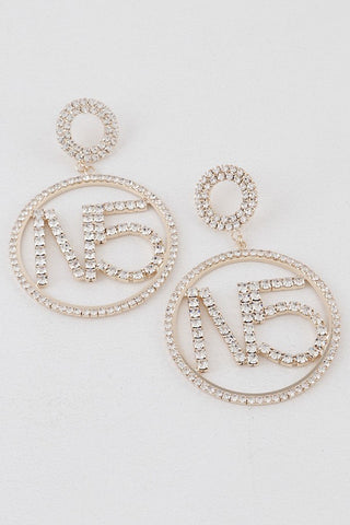 Numero 5 Earrings