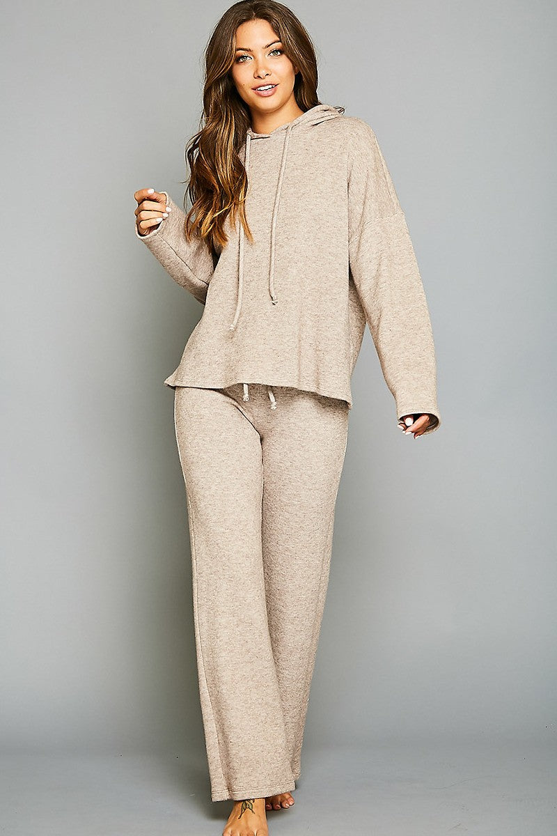 Neutral Pants Set