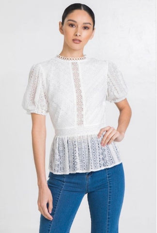 Estelle Lace Top