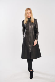 Diomi leather coat MM4375