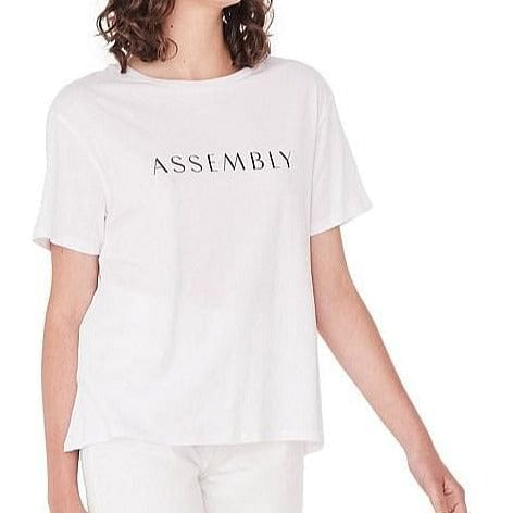 Assembly Label Clara Tee - White