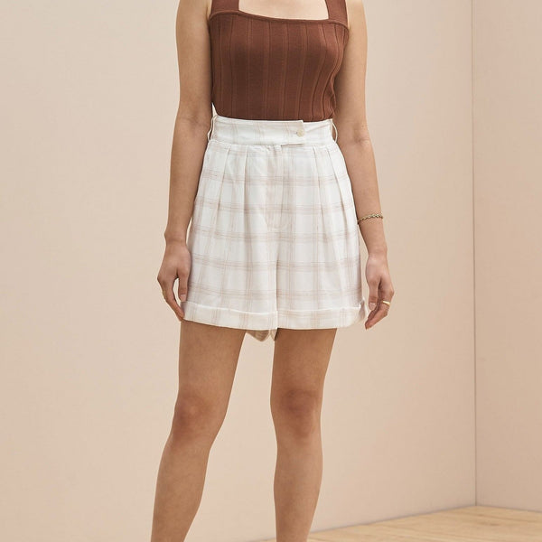 Sancia Eleta Shorts- Dalliance Check