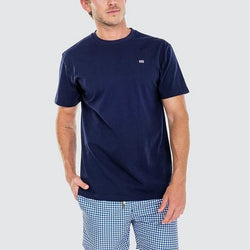 Ortc Clothing Co Flag T-Shirt - Navy