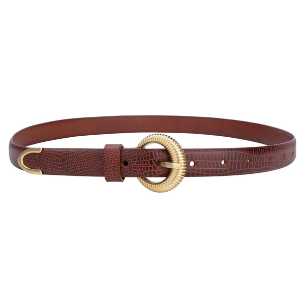 Sancia Lotka Belt - Vintage Tan
