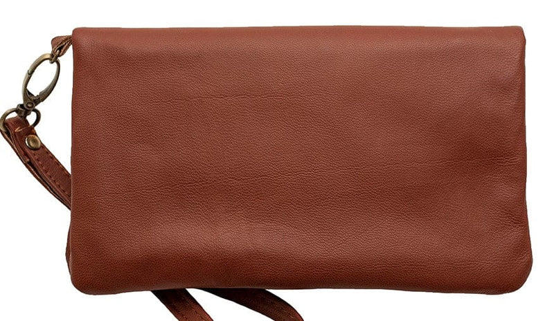 Empire of Bees Mahogany Leather Allegra Wallet