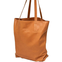 Empire of Bees Light Tan Leather Cate Tote