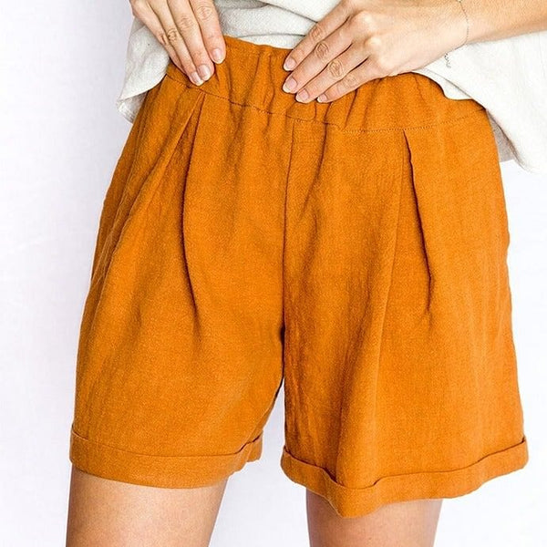 Devina Louise Boronia Shorts - Rust