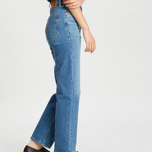 Levis Ribcage Straight Ankle - Jive Swing