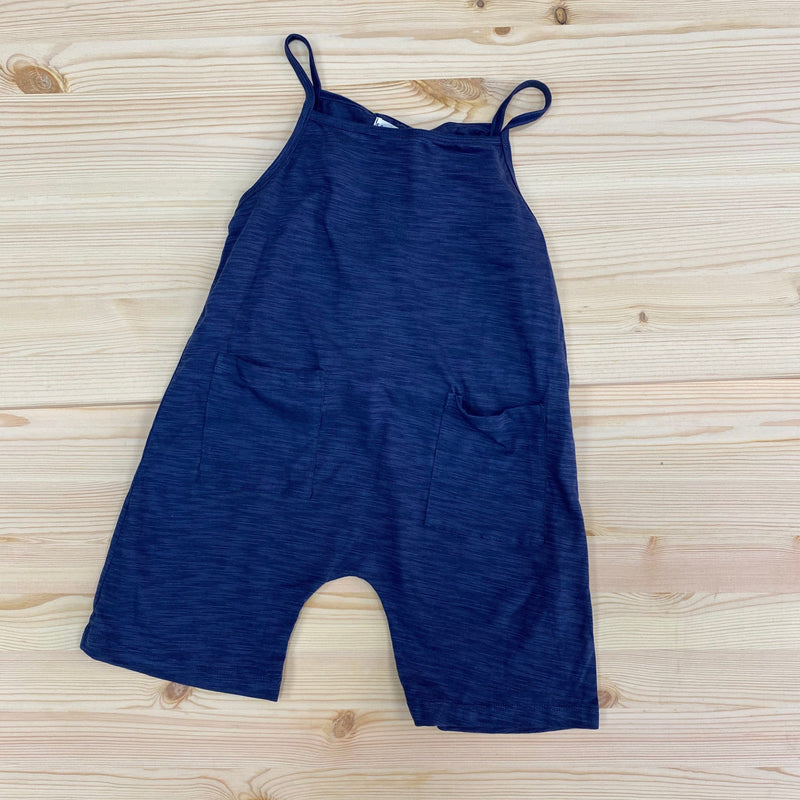Somebody's Story Kids Dungarees - Navy