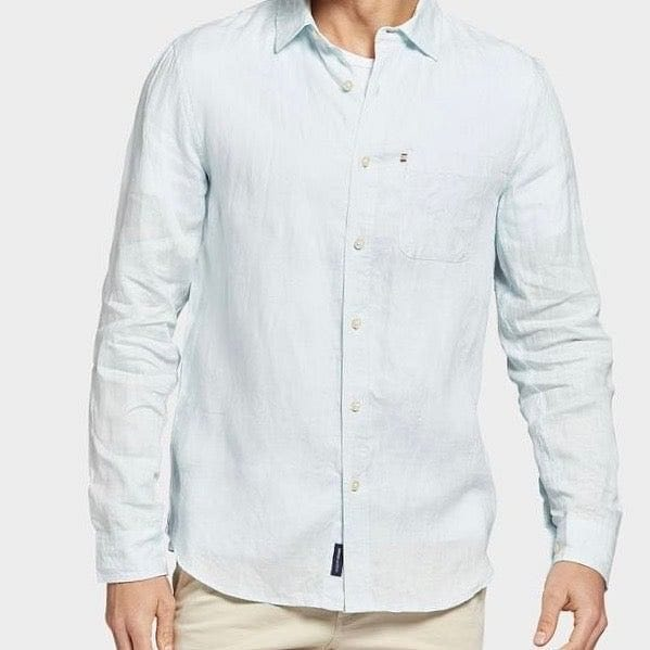 Academy Brand Hampton Long Sleeve Shirt - Sky