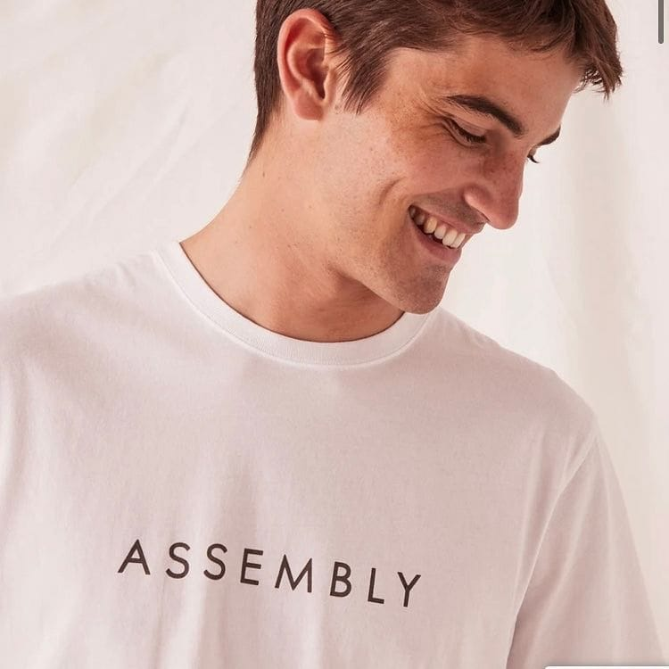 Assembly Label Marley Tee - White
