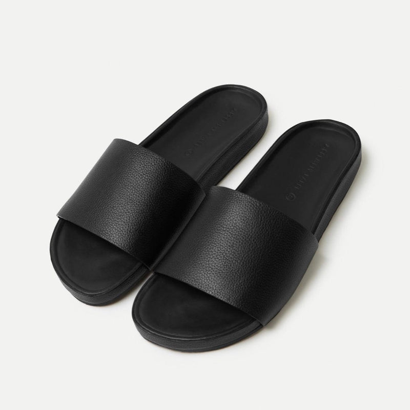 Assembly Label Single Strap Slide - Black