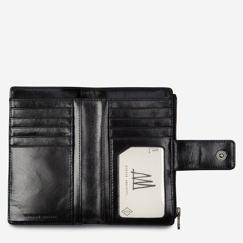 Status Anxiety Outsider Wallet - Black