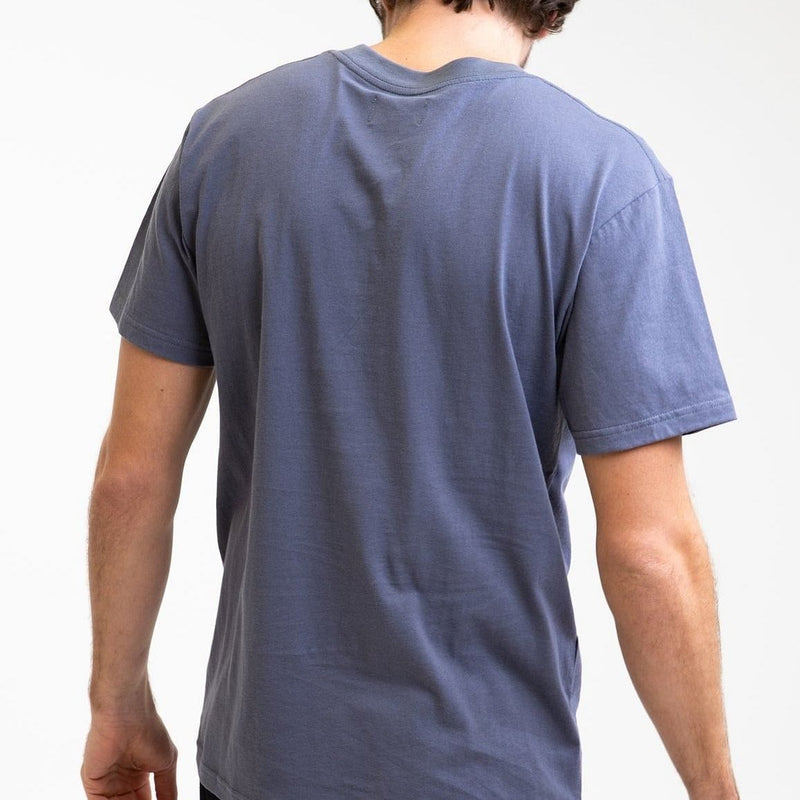 Rhythm Essential Logo T-Shirt - Navy