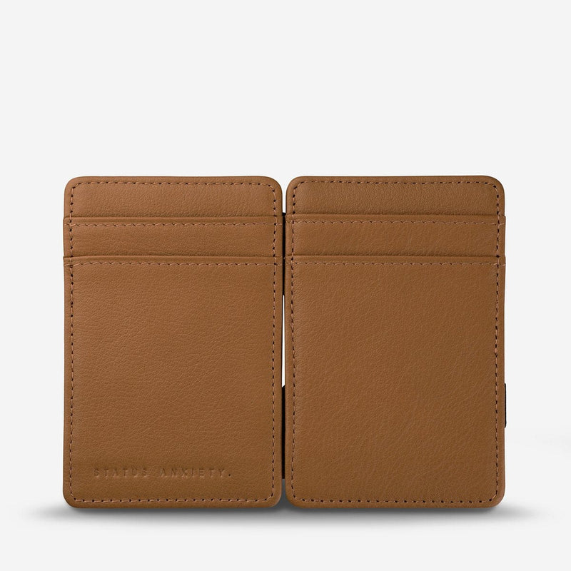 Status Anxiety Flip Wallet - Tan