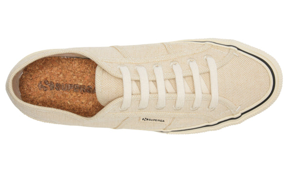 Superga 2490 Organic Cotton Shoe - Natural Beige