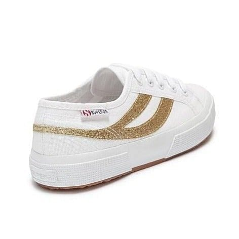 Superga 2953 Swallow Tail - Gold Glitter