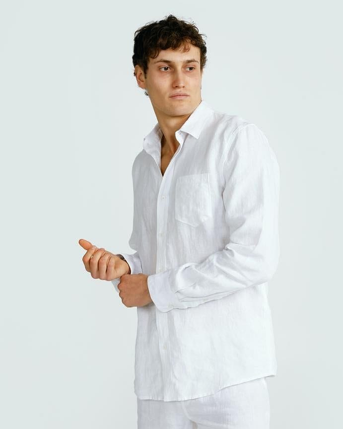 ortc Clothing Co. Linen Shirt - White