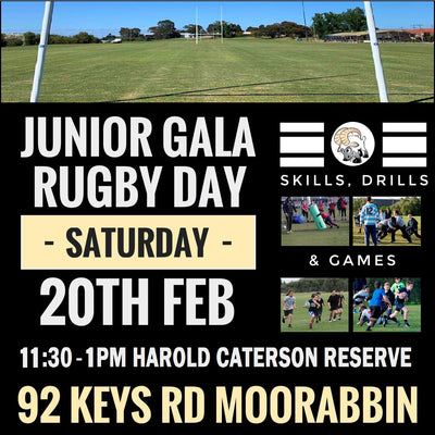 JUNIOR RUGBY GALA DAY
