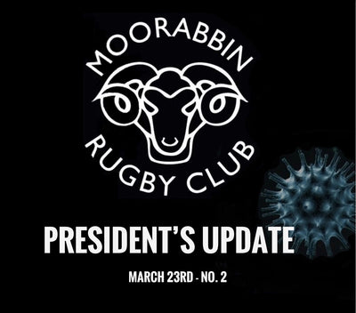 Presidents Report - Further Update