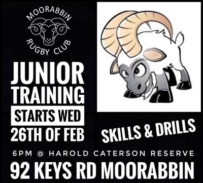 Junior Training set to start