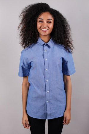 Unisex Button Down Shirt S/S [6 - 50 units]