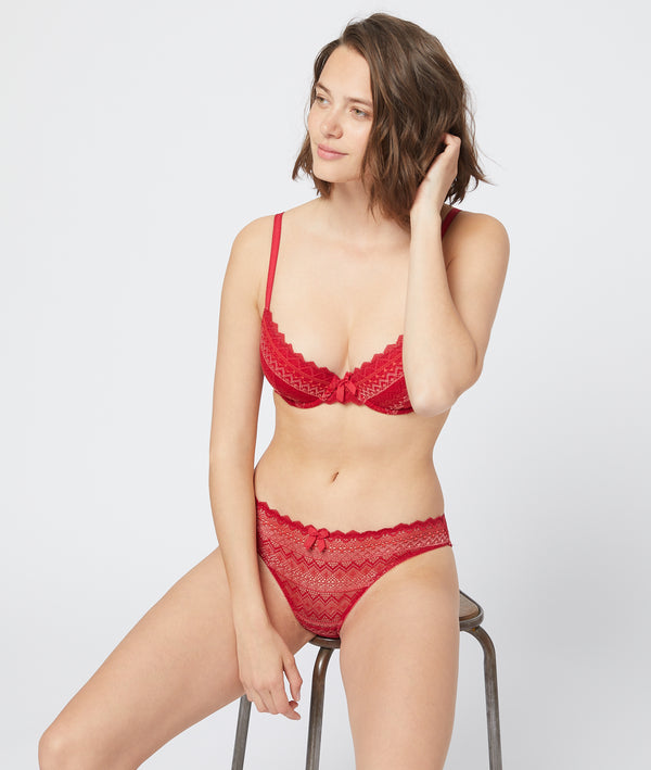 Etam - Bra n°4 : lace lightly padded bra
