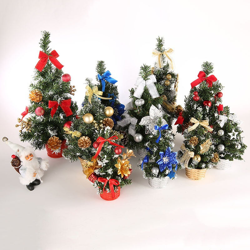 "Mini Christmas Trees with Decorations -  2 SIZES Available: 24""/58"""