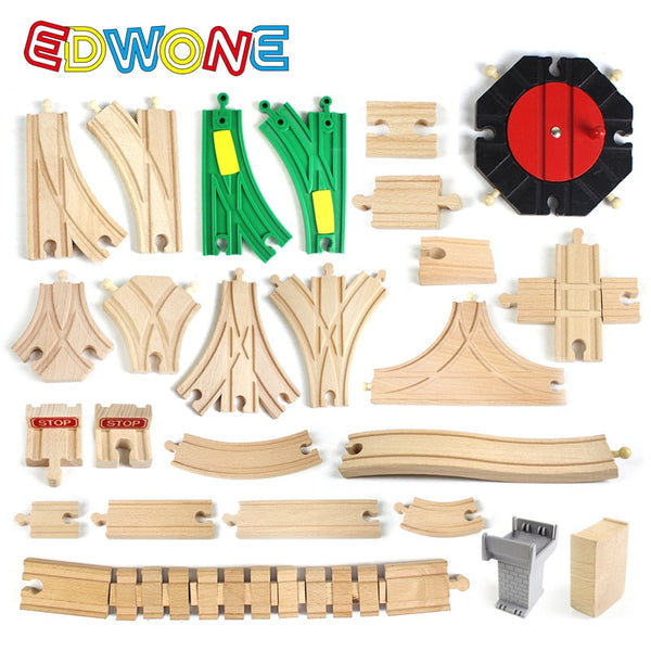 Wooden Track Parts , Wooden Railway Train