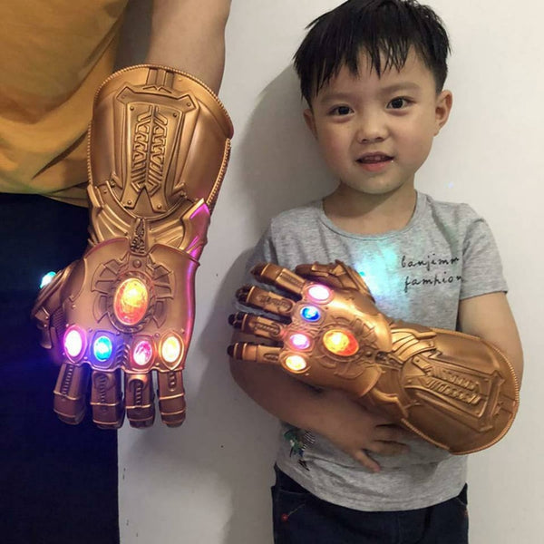 Light Glove Superhero Gloves for Kids and adults size