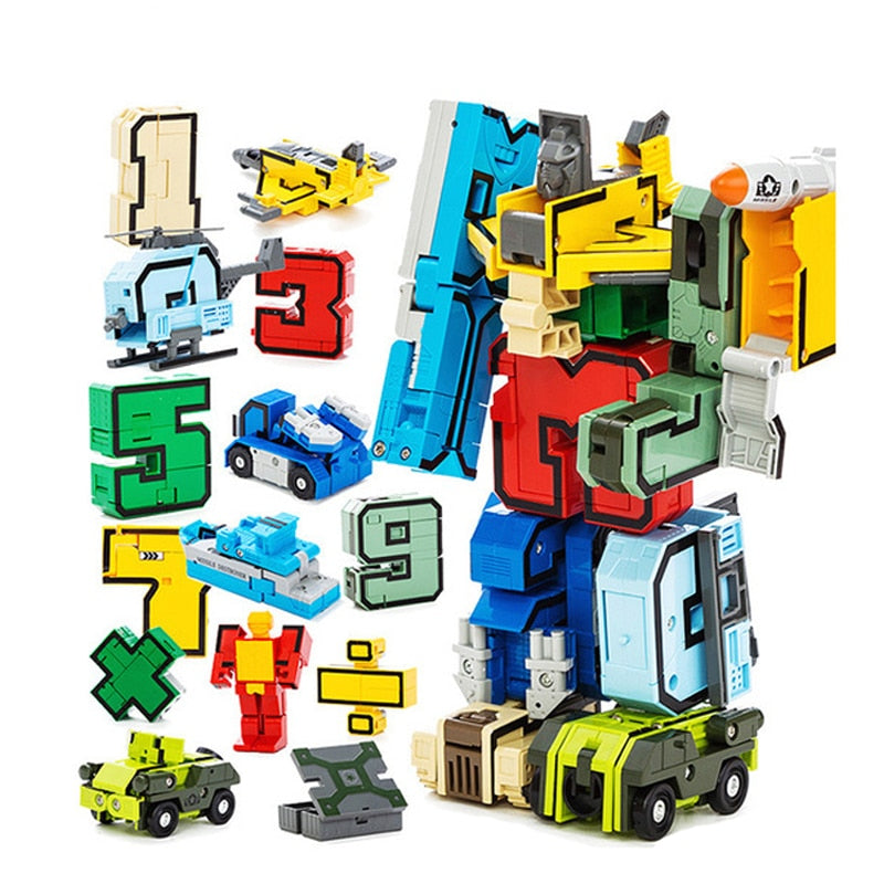 Creative Assembling Educational Blocks Action Figure