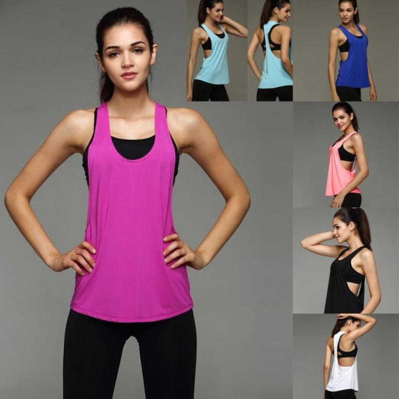 high quality Loose slim O-Neck Sleeveless T-shirt