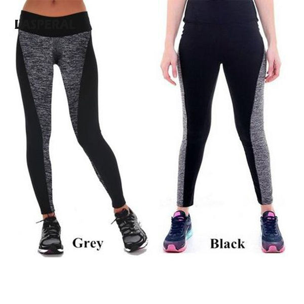 Women Semi Transparent Leggings High Waist Elastic