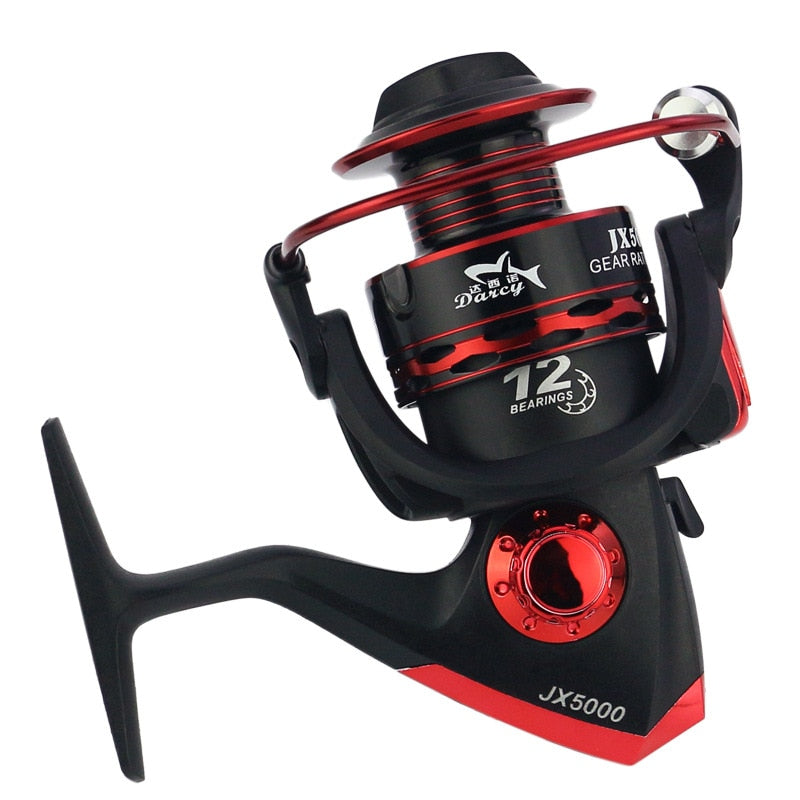 2019 Metal Spool Spinning Fishing Reel