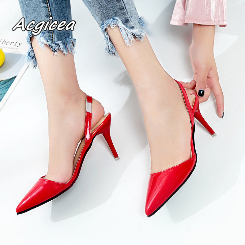 Woman Pointed Toe high heels